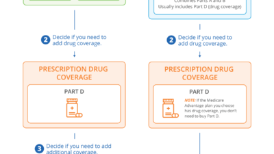 Infographic on How to Pick a Medicare Plan