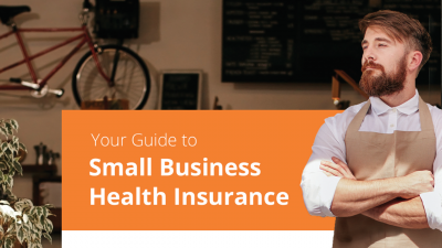Cover of the HealthMarkets Small Business Health Insurance Guide