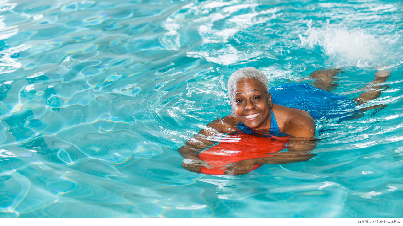why swimming has big benefits for seniors
